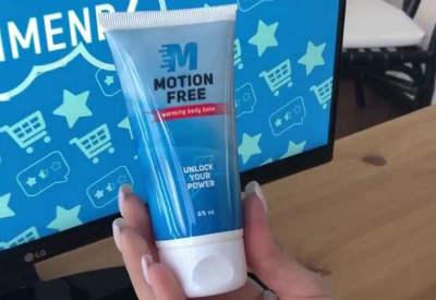 motion free balsam gel dureri spate articulatii